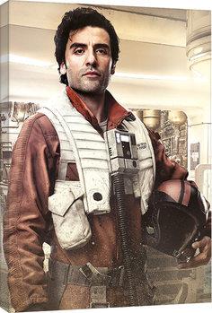 Εκτύπωση καμβά Star Wars: Die letzten Jedi- Poe Battle Ready