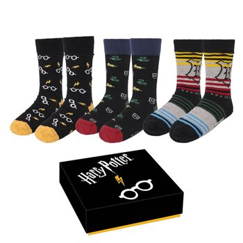 Ρούχα Κάλτσες Harry Potter - Pack