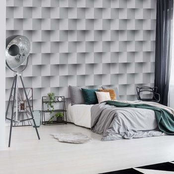 Ταπετσαρία τοιχογραφία 3D Brick Illusion Pattern