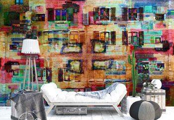 Ταπετσαρία τοιχογραφία Abstract Architecture