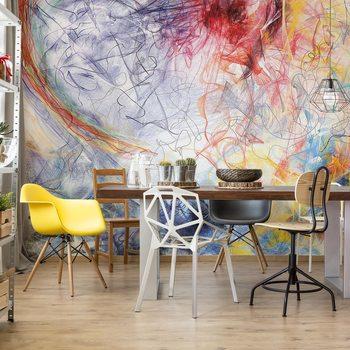 Ταπετσαρία τοιχογραφία Abstract Art