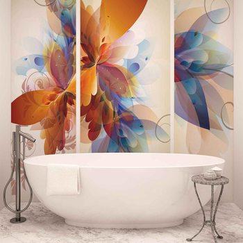 Ταπετσαρία τοιχογραφία Abstract flower