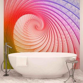 Ταπετσαρία τοιχογραφία Abstract Swirl Colours