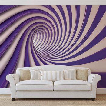 Ταπετσαρία τοιχογραφία Abstract Swirl
