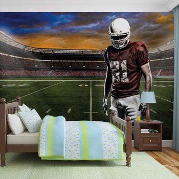 Ταπετσαρία τοιχογραφία American Football Stadium