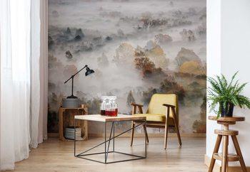 Ταπετσαρία τοιχογραφία Autumn Colours In The Fog