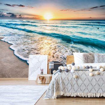 Ταπετσαρία τοιχογραφία Beach Sunset