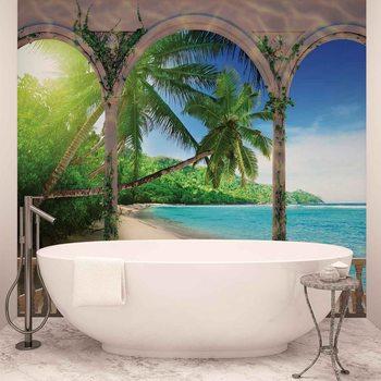 Ταπετσαρία τοιχογραφία Beach Tropical