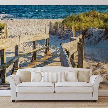 Ταπετσαρία τοιχογραφία Beach Tropical View