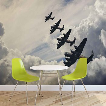 Ταπετσαρία τοιχογραφία Bomber planes
