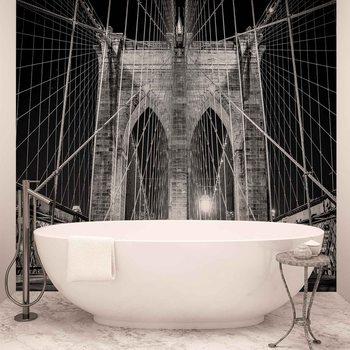 Ταπετσαρία τοιχογραφία Brooklyn Bridge New York