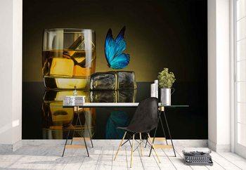 Ταπετσαρία τοιχογραφία Butterfly Drink