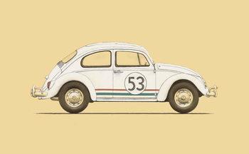 Ταπετσαρία τοιχογραφία Car of the 30s