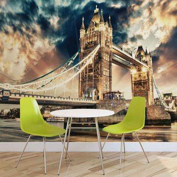 Ταπετσαρία τοιχογραφία City London Tower Bridge
