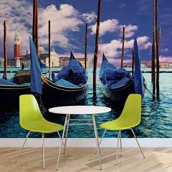 Ταπετσαρία τοιχογραφία City Venice Gondola
