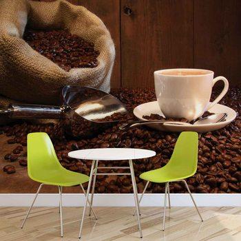 Ταπετσαρία τοιχογραφία Coffee Cafe