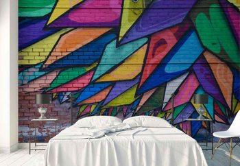 Ταπετσαρία τοιχογραφία Colours Of The City