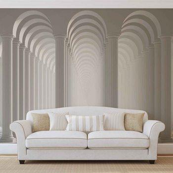 Ταπετσαρία τοιχογραφία Columns Passage
