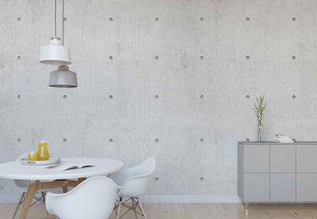 Ταπετσαρία τοιχογραφία Concrete Dots