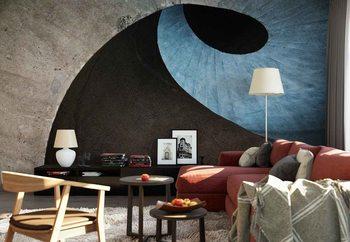 Ταπετσαρία τοιχογραφία Concrete Wave