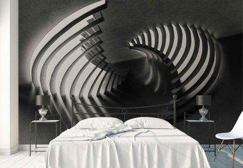 Ταπετσαρία τοιχογραφία Curved Stages