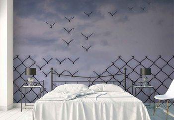 Ταπετσαρία τοιχογραφία Don´T Fence Me In!