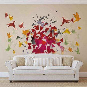 Ταπετσαρία τοιχογραφία Explosion Abstract
