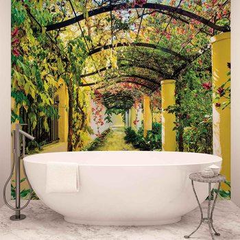 Ταπετσαρία τοιχογραφία Flowers Floral Garden