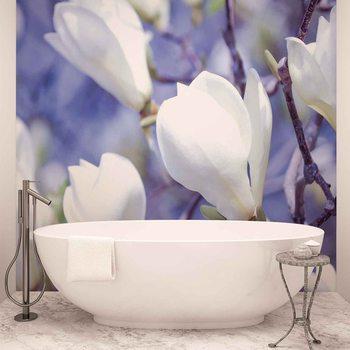 Ταπετσαρία τοιχογραφία Flowers Magnolia Nature