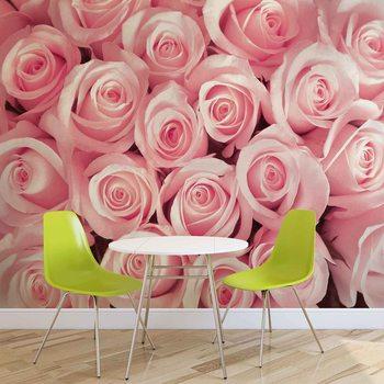 Ταπετσαρία τοιχογραφία Flowers Roses