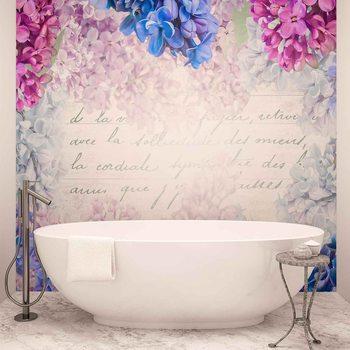 Ταπετσαρία τοιχογραφία Flowers Vintage
