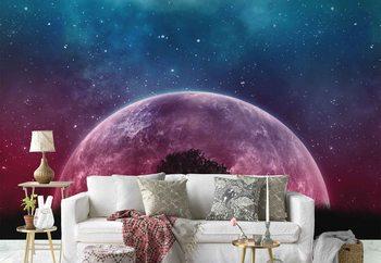 Ταπετσαρία τοιχογραφία Galaxy Tree