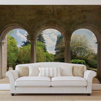 Ταπετσαρία τοιχογραφία Garden Through Arches