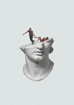 Ταπετσαρία τοιχογραφία Get out of my head