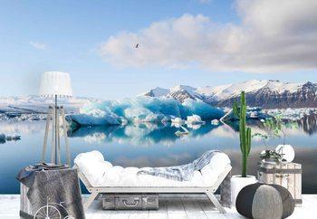 Ταπετσαρία τοιχογραφία Iceberg Reflection