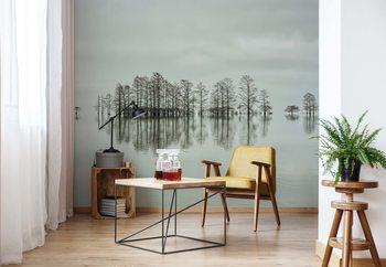 Ταπετσαρία τοιχογραφία Lake-Shore Lineup Beauty