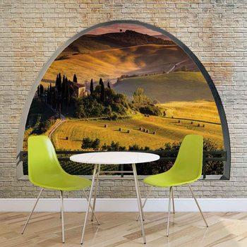 Ταπετσαρία τοιχογραφία Landscape Nature Arch View