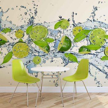 Ταπετσαρία τοιχογραφία Limes Water