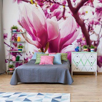 Ταπετσαρία τοιχογραφία Magnolia Tree