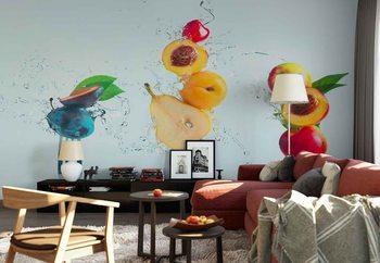 Ταπετσαρία τοιχογραφία Making Fruit Salad