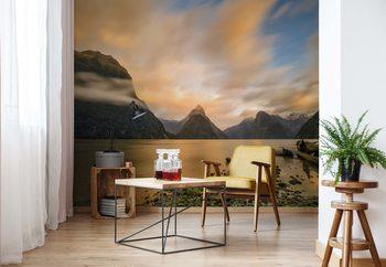 Ταπετσαρία τοιχογραφία Milford Sound