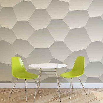 Ταπετσαρία τοιχογραφία Modern Hexagone Muster