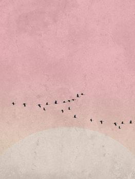 Ταπετσαρία τοιχογραφία moonbird5