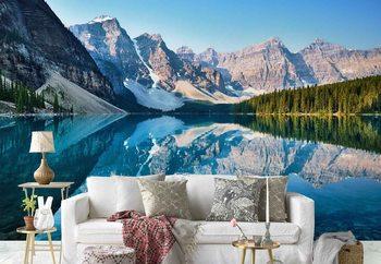 Ταπετσαρία τοιχογραφία Mountain Mirror