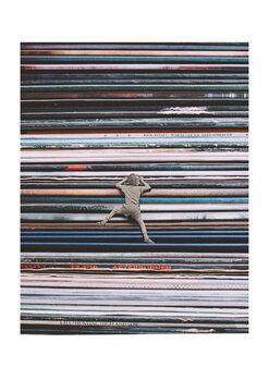 Ταπετσαρία τοιχογραφία Music lover
