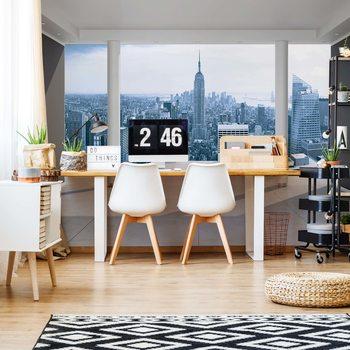Ταπετσαρία τοιχογραφία New York City Skyline 3D Penthouse View