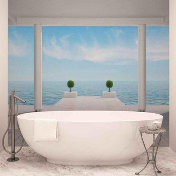 Ταπετσαρία τοιχογραφία Ocean View