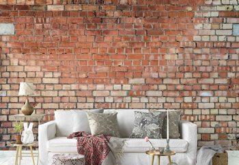 Ταπετσαρία τοιχογραφία Old Brick