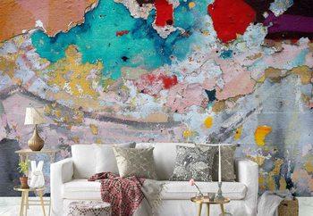 Ταπετσαρία τοιχογραφία Paint Layers