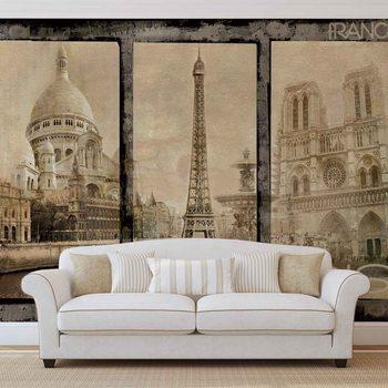 Ταπετσαρία τοιχογραφία Paris City